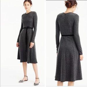 🌎 Jcrew flared knit Midi Dress